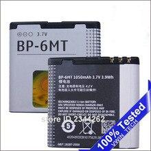 100% аккумулятор для Nokia BP-6MT BP6MT N81 N82 E51 E51i 6720C 1050 мАч батареи