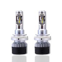 NIGHTEYE H15 Auto Car 12v Led Dome Light Headlights 70W 10000LM Hi Lo Beam Driving Fog