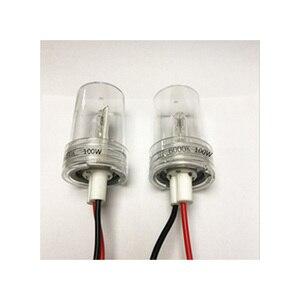 Image 4 - DUU 100W балласт комплект HID ксеноновая лампа 12V H1 H3 H7 H11 9005 9006 4300K 6000K 8000K Xeno фары ненастраиваемая кнопка