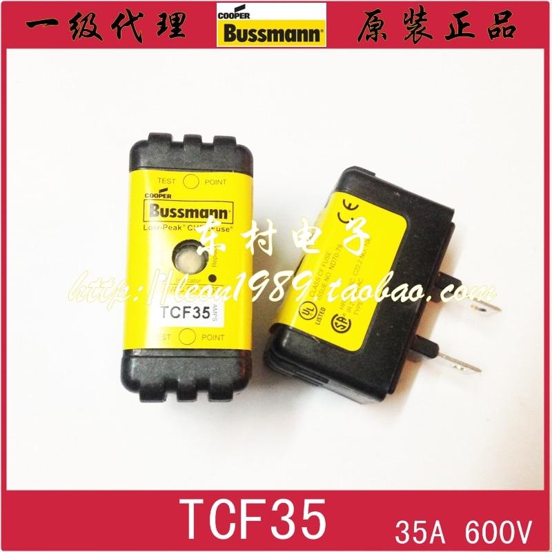 [SA]United States BUSSMANN fuse TCF 35 35A TCF25 25A TCF 20 20A 600V fuse paradigm sa 35 v 2