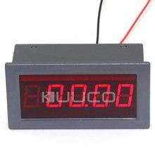 Digital Voltmeter DC +/-0 ~200V Red Led Digital Tester Positive and Negative Volt Display Meter High Accuracy Panel Meter
