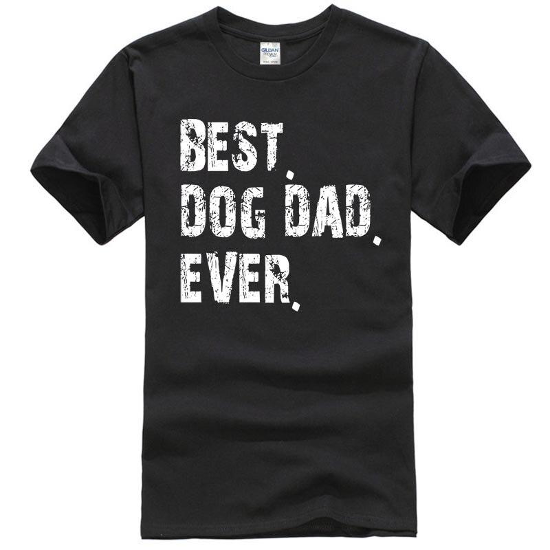 Los hombres mejor perro papá Día del Padre Gif-Popular de gran Tee camiseta