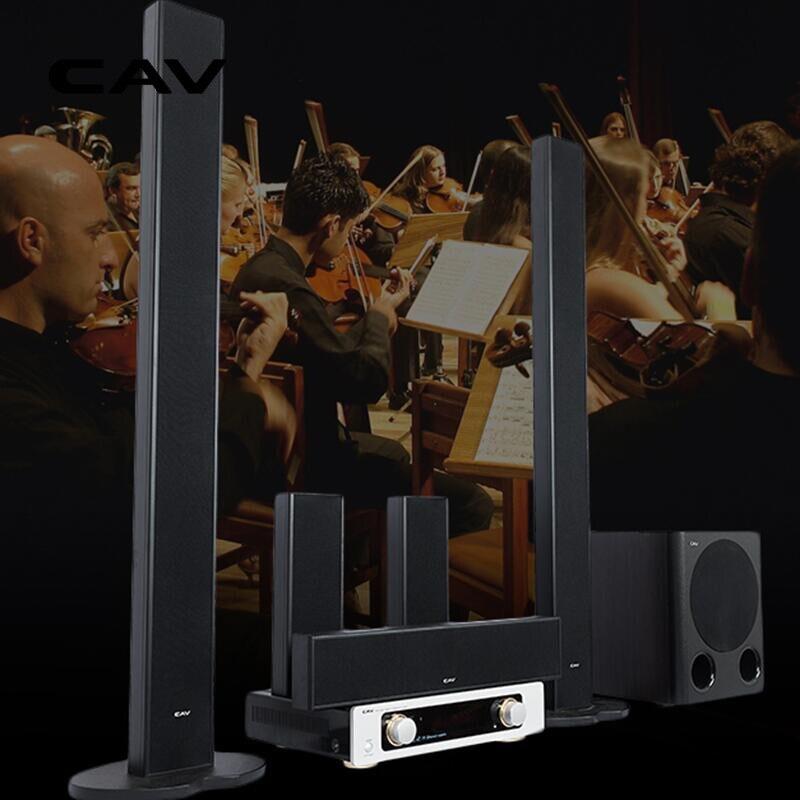 Электрические плиты CAV TT20 дома Театр Системы 5,1 компл. DTS Surround Sound Металл Bluetooth аналоговый коаксиальный цифровой дома Театр Кино музыкальный центр (Фото 4)