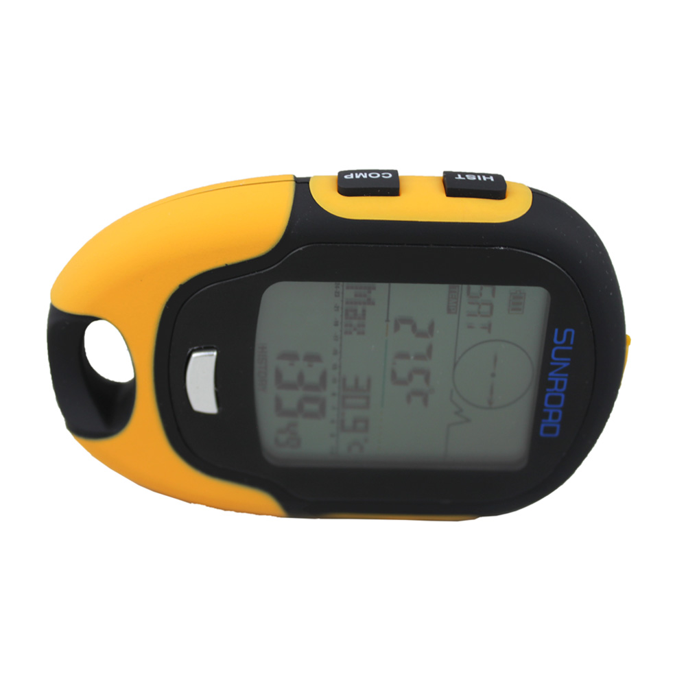 Pedometers Camping Altimeter Multifunction Lcd Digital Barometer Compass Thermometer Hygrometer Weather Forecast Led Torch Fr500
