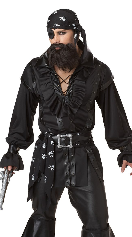 Adult blackbeard pirate costume