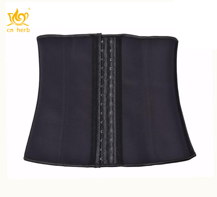 Cn Herb Women 39 s Latex Waist Trainer Corset For Weight Loss Cincher Shaper Slimmer Free Shipping in Slimming Product from Beauty amp Health