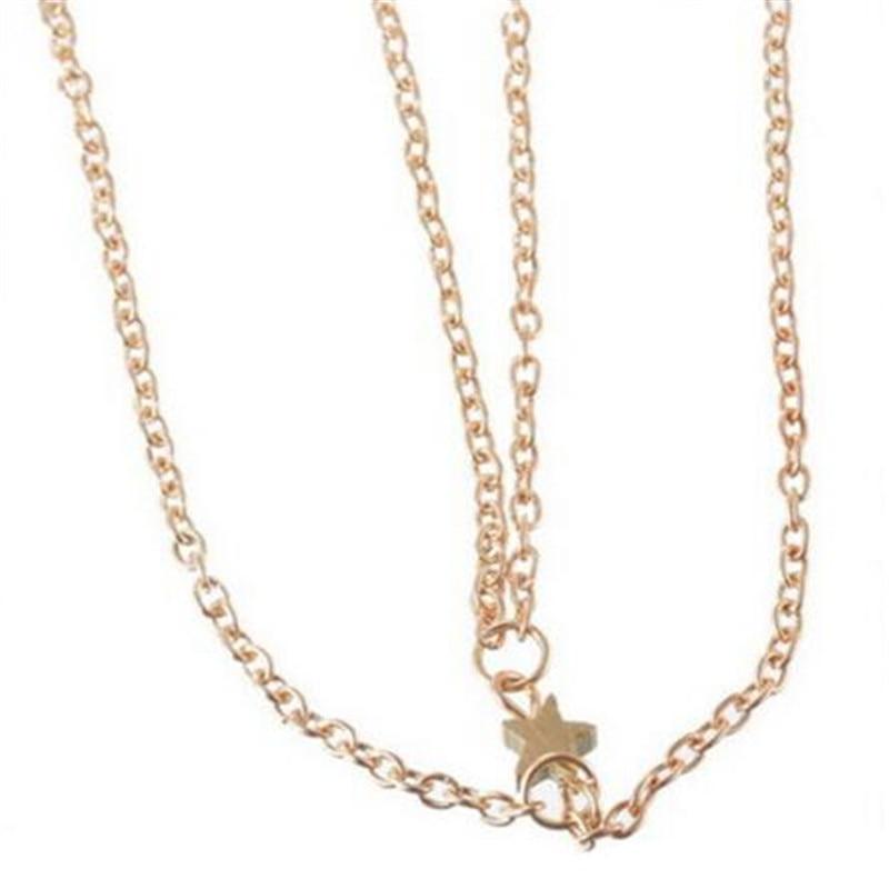 Imixlot Sexy Golden Bikini Beach Crossover Harness Necklace Waist Belly Body Chain For Women Fashion Jewelry
