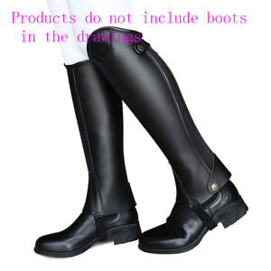 Adult Chaps Equestrian Riding Leg-Guard Equipmet Wear-Resistant Comfortable And Ultra-Fiber