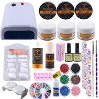 Promo Set for manicure BURANO 48W UV LED Nail lamp 25 LEDs dryer ...