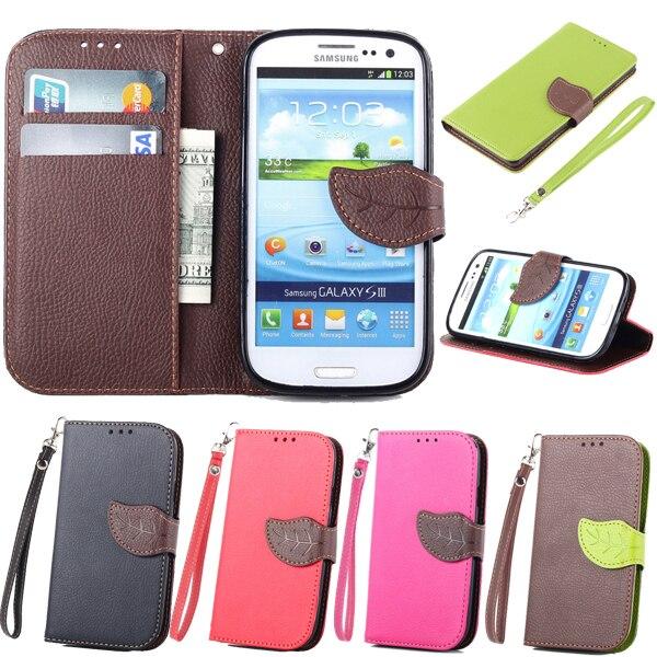 For SAMSUNG Galaxy S3 Neo Duos GT I9301I Brand Book Flip PU