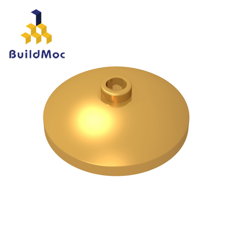 BuildMOC 43898 Dish 3 X 3 Inverted 3.8 Technic Changeover Catch For Building Blocks Parts DIY Educational Creative Gift Toys
