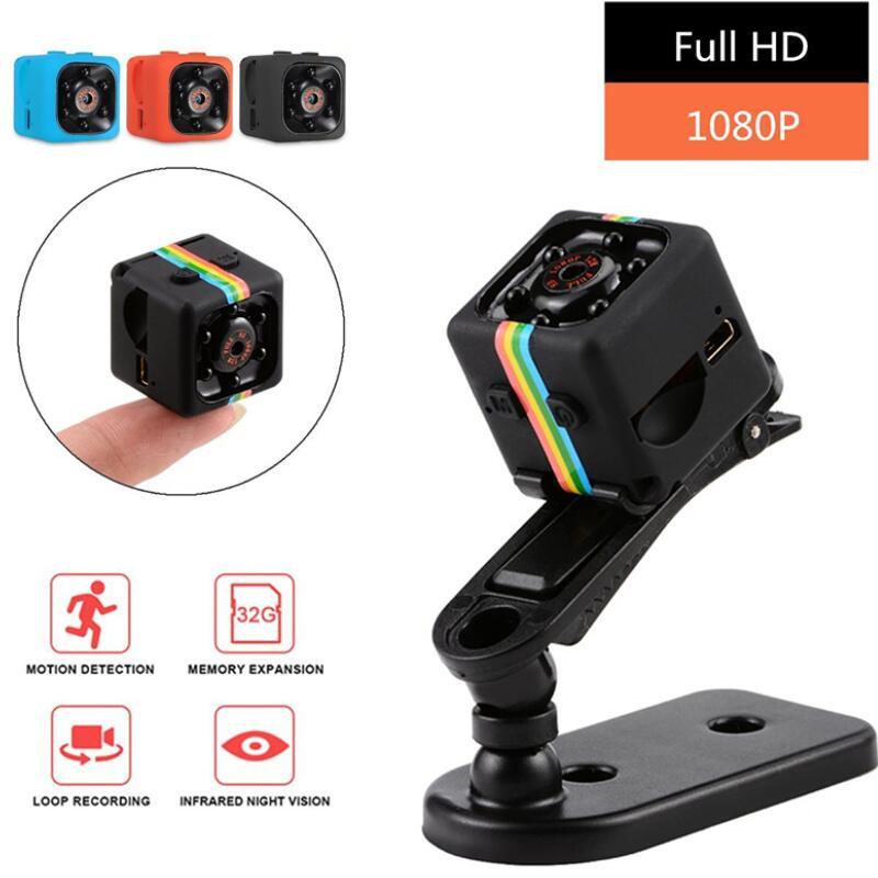 SQ11 Mini Camera 1080P Sport DV Mini Infrared Night Vision Monitor Concealed SQ11 Small Cameras DV Video Recorder CamSQ11 Mini Camera 1080P Sport DV Mini Infrared Night Vision Monitor Concealed SQ11 Small Cameras DV Video Recorder Cam