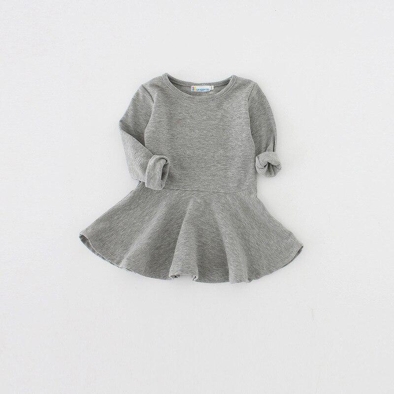 Sun Moon Kids Baby Girls Dress Cotton Newborn Infant Baby Clothes 1 Year Birthday Dress 2017 New Child Tutu Dress
