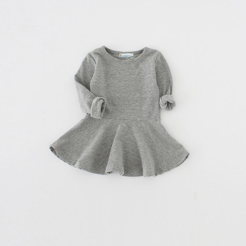 Sun Moon Kids Baby Girls Dress Bavlna Novorozenec Dětské oblečení 1 Rok Narozeninové šaty 2017 Nové Dětské Tutu šaty
