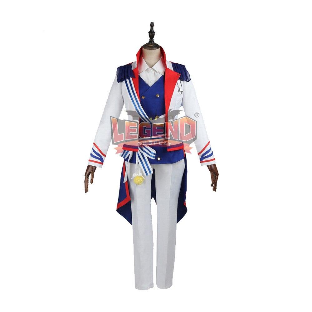 Anime B-project Kodou Ambitious Tomohisa Kitakado Cosplay Costume Coat adult costume halloween costume custom made full set