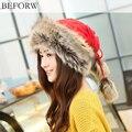 зимняя шапка женщин 2015 моды шапки для зимы для женщин шапка женская, шапки для девочек трикотажная шапка, высокое качество 5 цветов женские шапки, открытый шерстяную шапку зимой тепло шапка балаклава