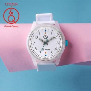 Citizen Q&Q watch women ladies Gift Clock Top Luxury Brand Waterproof Sport Quartz solar women watches Neutral watches relogio(China)
