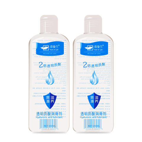 200ml Silk Touch Hyaluronic Acid Lubricant gel sex Adult Products Water-based gel Body Sex Oil anal vagina gay sex masturbation Multan