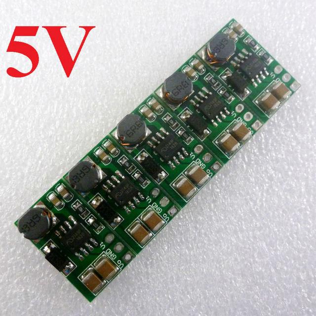 5PCS DD0606SB_5V 1-5V 3.3V 3.7V to 5V DC DC Boost Step up Converter Module Voltage Regulator Board