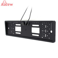 EU Car License Plate Frame Rear View Camera HD Night Vision Rear View Camera Reverse Rear