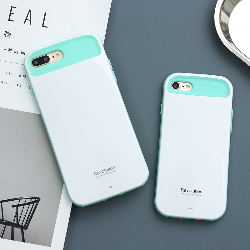 new arrival 159b8 6bced US $4.49 |iFace case for iPhone X 7 8 Plus 6 6s Plus Cute Kawaii Beauty  coque for iphone 8 cases shock absorption anti fingerprint-in Fitted Cases  ...