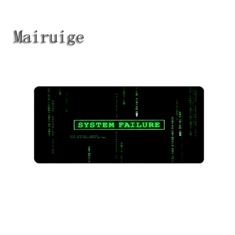 Mairuige Hot Selling Technology Hacker Gaming Mouse Pad Mat Large Big Size Pc Computer Table Rubber Mats for Decorative Deskdiy
