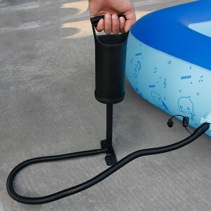 Portable Air Pump Inflator for Swimming Ring Balloon Yoga Ball Inflatable Toy Ball Foot Air Pump Inflator environmentally friendly pvc inflatable shell water floating row of a variety of swimming pearl shell swimming ring