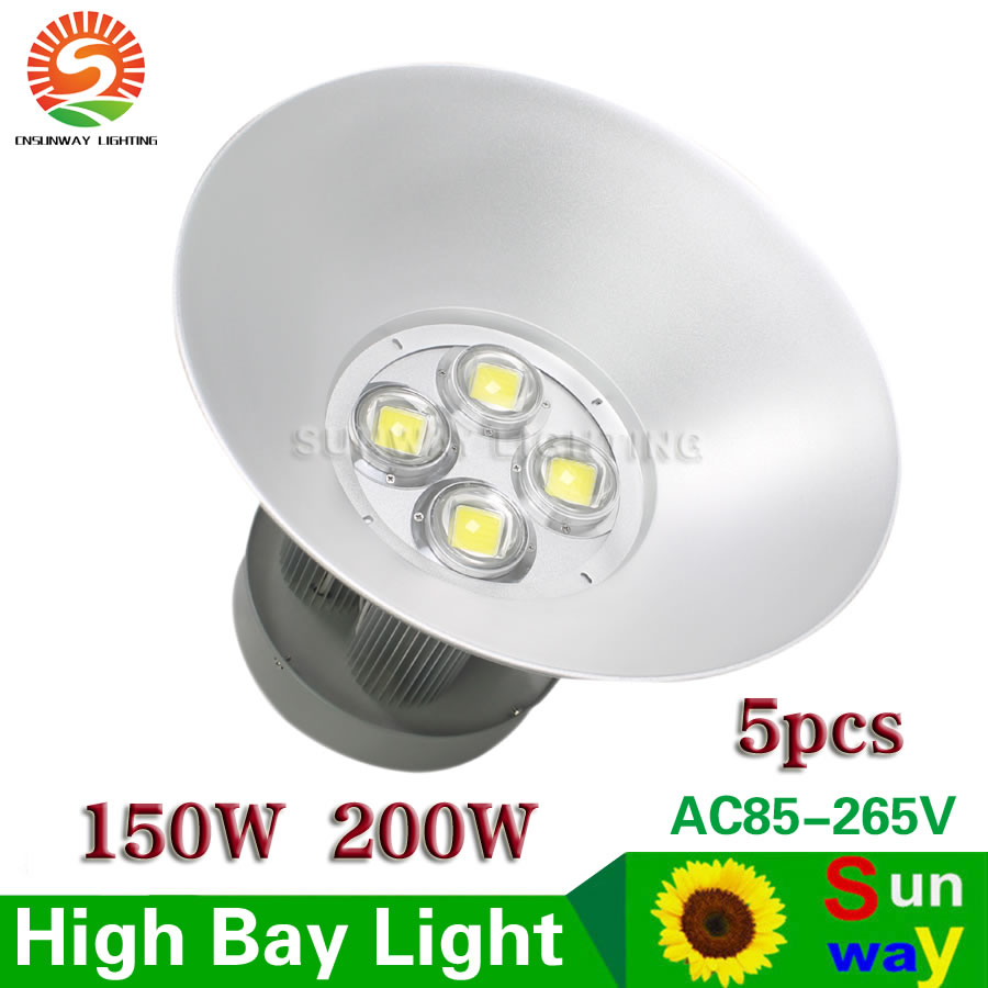 Advantages Of Using Led High Bay Lighting In Warehouses: LED High Bay Light 150W 200W Industrial Lamp For Factory