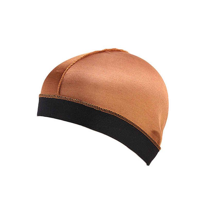 Nowe kobiety mężczyźni długie włosy pielęgnacja kobiety moda czapeczka dziecięca nocny czepek do spania jedwabna czapka chusta na głowę Top na co dzień moda na zewnątrz #4F01 # FN