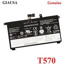 GIAUSA genuíno 00UR890 00UR891 00UR892 Bateria Para Lenovo ThinkPad T570 P51S SB10L84121 SB10L84122 SB10L84123 4ICP6/38/64- 1