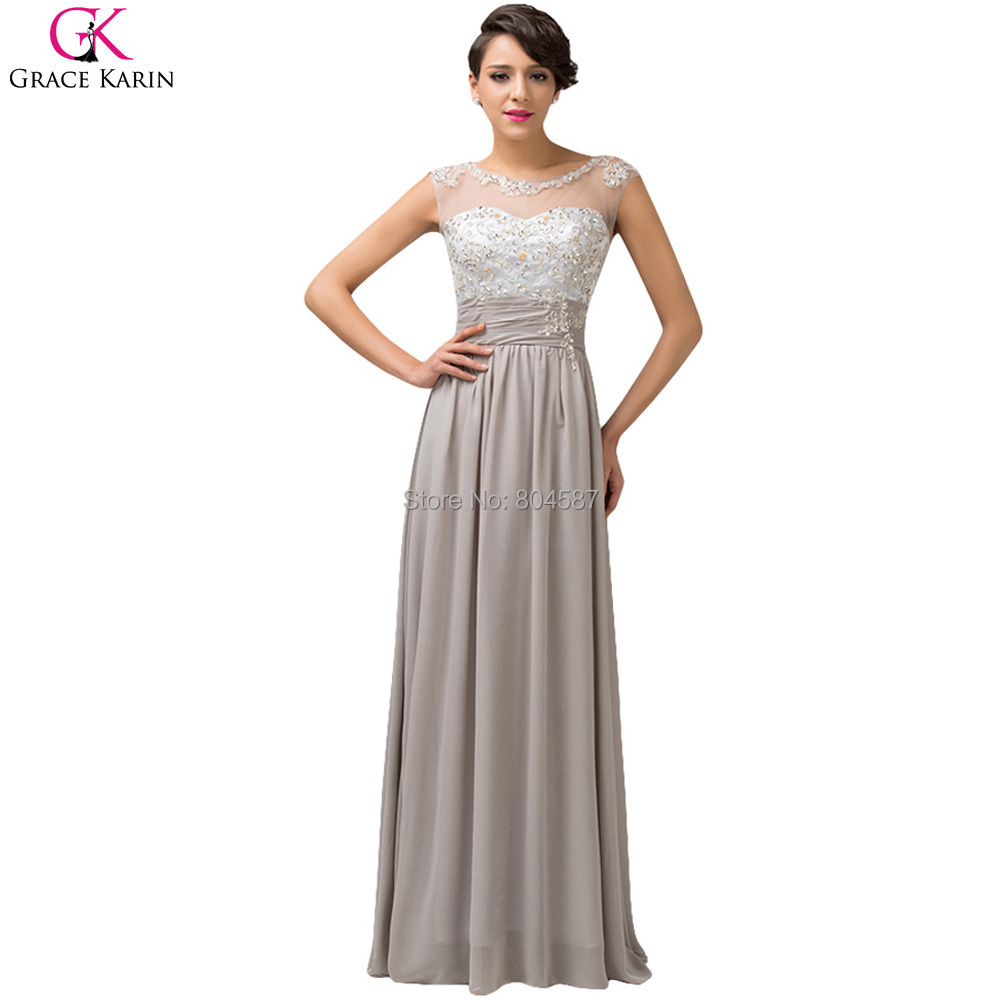 Aliexpress.com : Buy Beautiful Grace Karin Sleeveless Chiffon ...