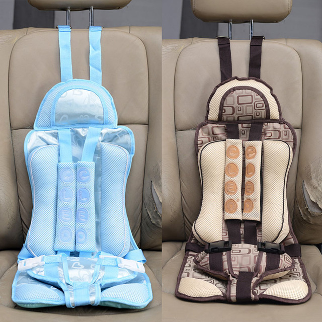 New 4 8 Years Old Infant Safe Seat Portable Baby Safety Childrens Chairs Kids