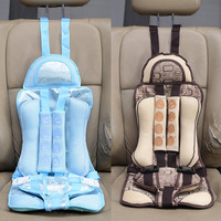 New 4 8 Years Old Infant Safe Seat Portable Baby Safety Seat Children's Chairs Kids Car Seats Covers Children Car Safe Seat TY