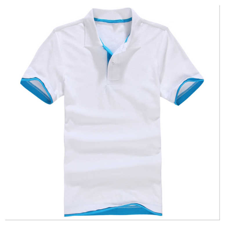 Plus Size XS-3XL New Men's Polo Shirt High Quality Cotton Short Sleeve Shirt Summer Breathable Solid Male Polo Shirt Casual Busi