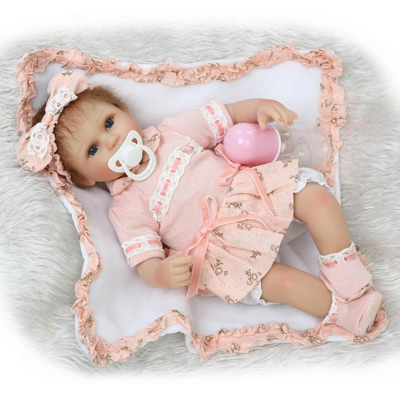 15 Real Rebron Babies Boneca Silicone Reborn Baby Dolls with Clothes, Cute Newborn-Baby-Doll Educational Toys for Children 20 real reborn babies bonecas newborn baby dolls with clothes lovely reborn silicone baby dolls educational toys for children
