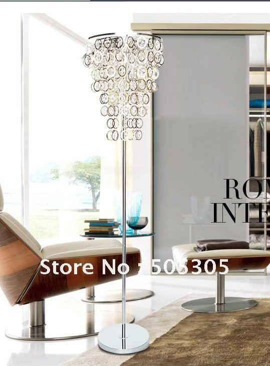 2012 New Designed Hot Sales Crystal Chandelier Floor Lamp Shipping For Free  By EMS ETL3032 In Floor Lamps From Lights U0026 Lighting On Aliexpress.com |  Alibaba ...