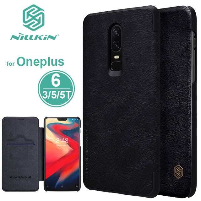 free shipping bbccc 85409 US $9.89 10% OFF|Oneplus 6 Case Nillkin Qin Series Oneplus6 Flip Leather  Case One Plus 6 Luxury Back Cover Oneplus 5T 5 3 3T Business Phone Case -in  ...