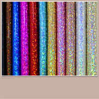 Lychee Life A4 Sequin Dot PU Fake Leather Fabric High Ouality Synthetic Leather DIY Material For Handbag Garments