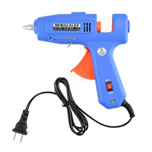 NEWACALOX 60W 100W 100V-240V Hot Melt Glue Gun with 1pc 11mm Stick Heat Temperature Tool Industrial Gun Thermo Copper Nozzle