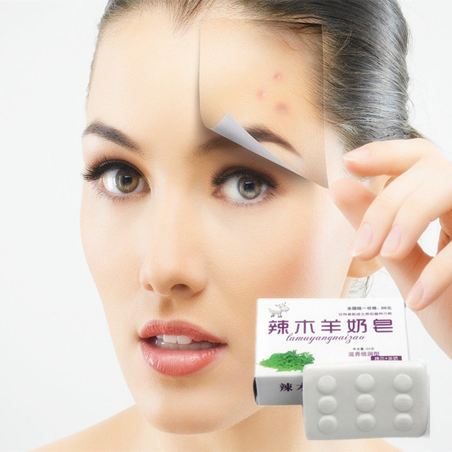 Wholesale 1Pcs/40g Anti wrinkle anti aging facial mask face care whitening handmade soap face skin care lifting firming soap