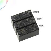 5 шт. 5 В, 12 В, 24 В постоянного тока, силовые G5NB-1A-E-5VDC 12VDC 24VDC 5A 250VAC 4PIN