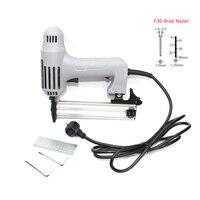 F30 Brad Nailer With 600Pcs Nails Woodworking Tacker Electric Nail Gun 220V Electric Power Tools