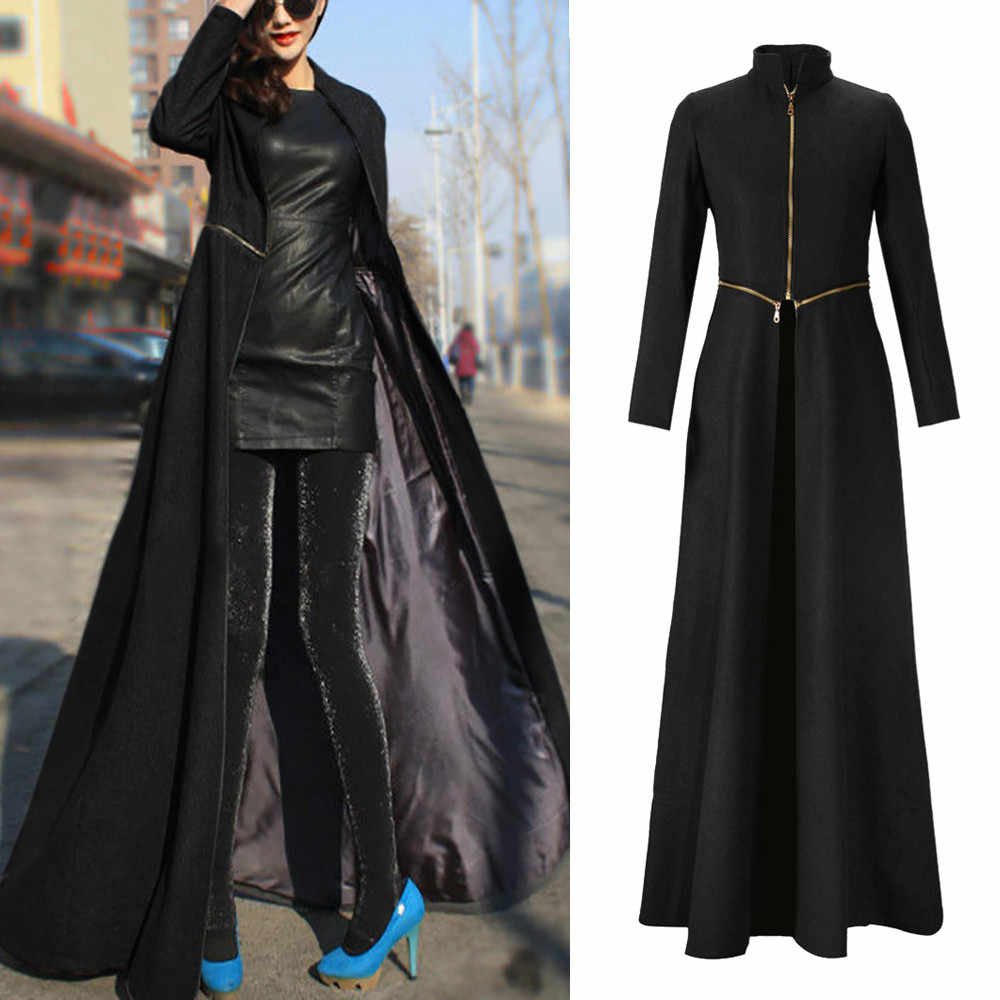 Winter Women Coat Woman Coats Winter 2018 Womens Jacket Coat Winder Breaker Slim Fit Long Trench Outwear Parka Long Clothes
