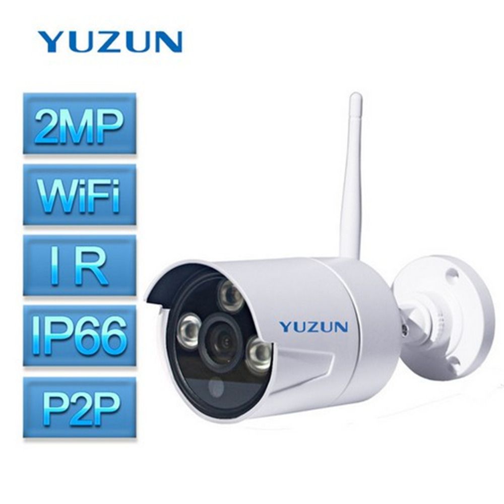 2MP 1080P HD Security Camera Outdoor Waterproof Camera IP66 IP Bullet Camera IR Night Vision wireless Camera ONVIF P2P IR CUT escam qd900 wifi ip camera 2mp full hd 1080p network infrared bullet ip66 onvif outdoor waterproof wireless cctv camera