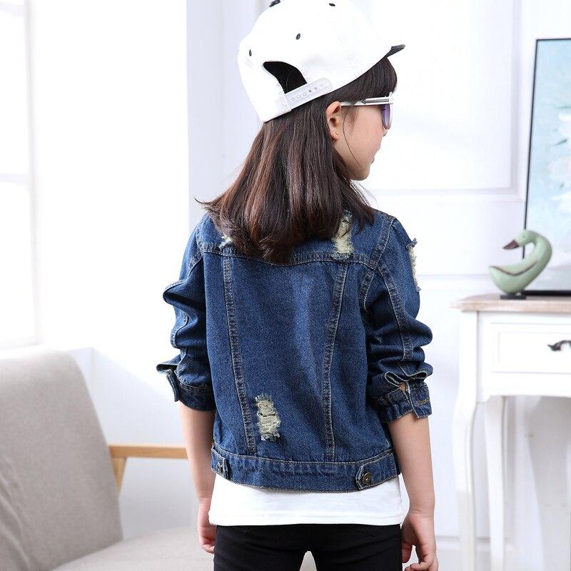 Outerwear & Coats Analytical Spring Girls Denim Jacket Boys Coat Outerwear Fashion Jean Jackets For Girl Denim Coats Denim Jacket Boys Overcoat
