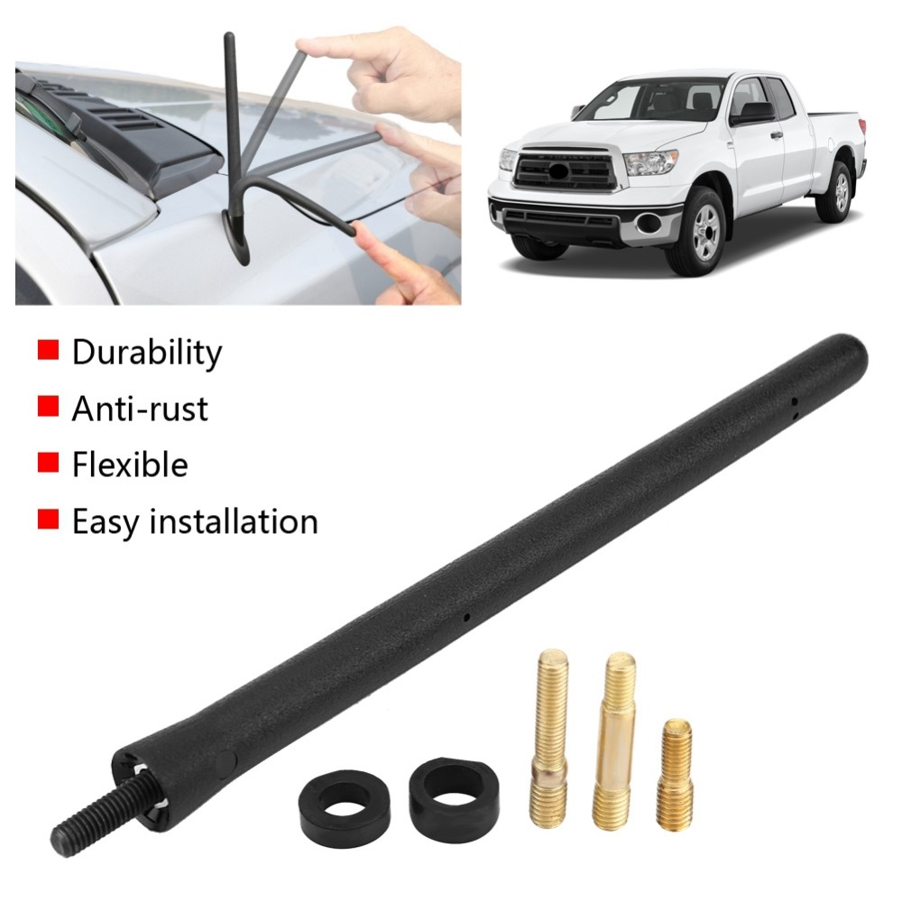 6 75 quot Car Stainless Steel Antenna Mast for Toyota Tundra All Models 2000 2018 Replacement Power Aerial AM FM Radio Antenna Mast in Aerials from Automobiles amp Motorcycles
