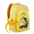 2016 New 6D cartoon Minions children school bags for girls yellow Despicable Me 2 school backpacks kids bag boys mochila escolar