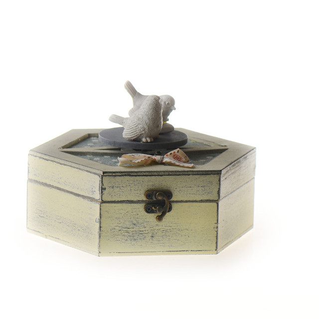Aliexpresscom Buy Novelty Musical Jewelry Boxes Wooden Rectangle