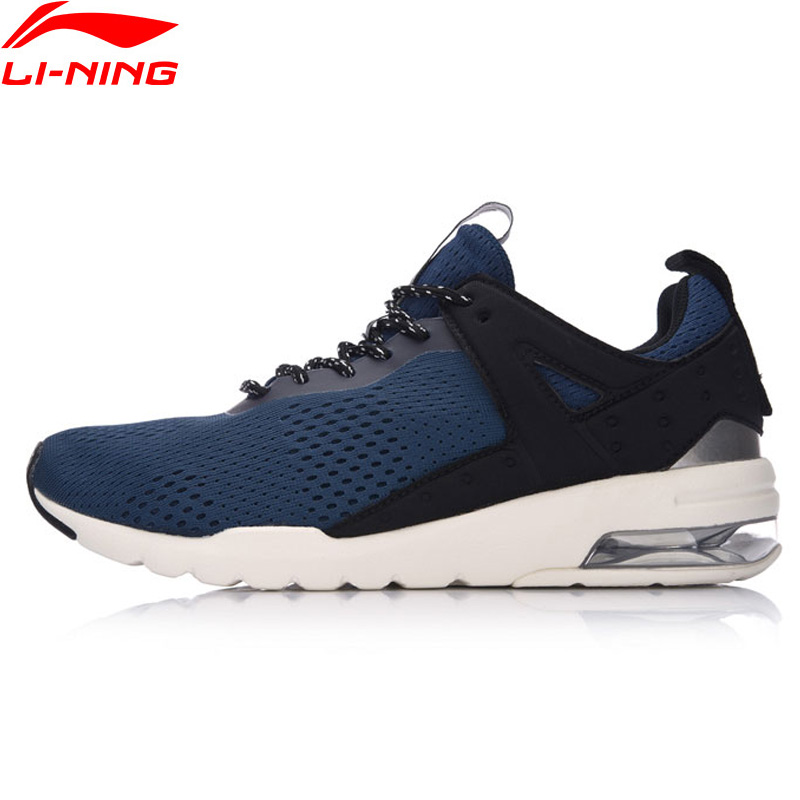 Li-Ning Essential Pacer Men Walking Shoes Air Cushion Comfort Sneakers Leisure LiNing Breathable Sports Shoes GLKM093 YXB090 li ning men wade series basketball shoes breathable comfort lining sports shoes abcm093 xyl117