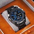 Mais nova marca de luxo curren homens relógios dos esportes da forma relógios casuais relógio de quartzo militar relógios das mulheres relógios de pulso 0211